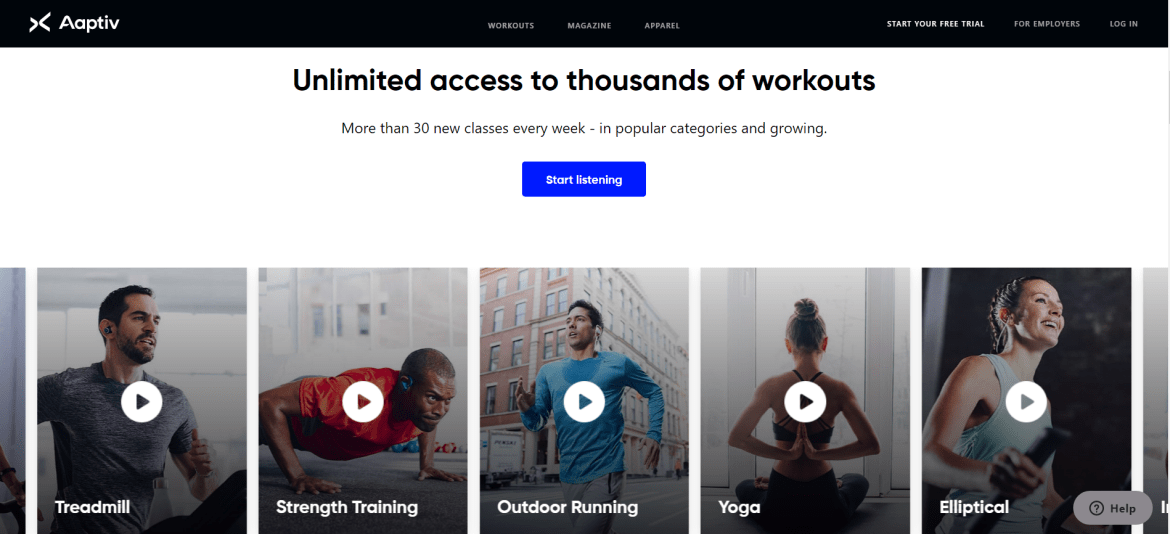 Aaptiv fitness app free online workouts online workouts online yoga