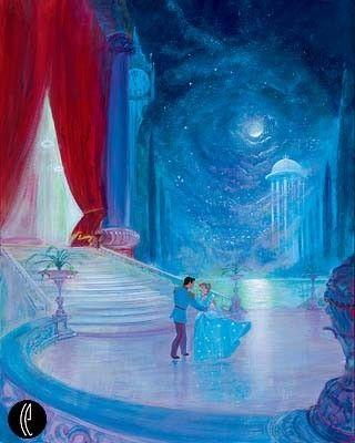 Cendrillon Et Son Prince Qui Dansent!
