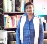 Dr. Alia in her office
