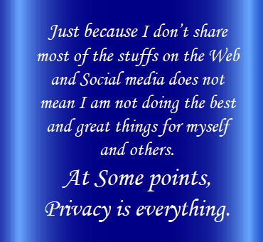 Privacy of Alia Nawaz
