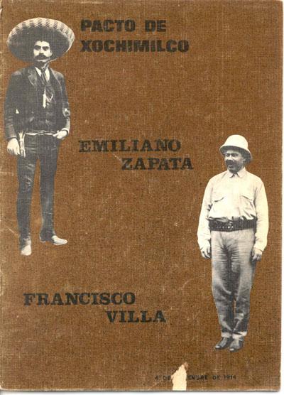 Pacto de Xochimilco Francisco Villa y Emiliano Zapata