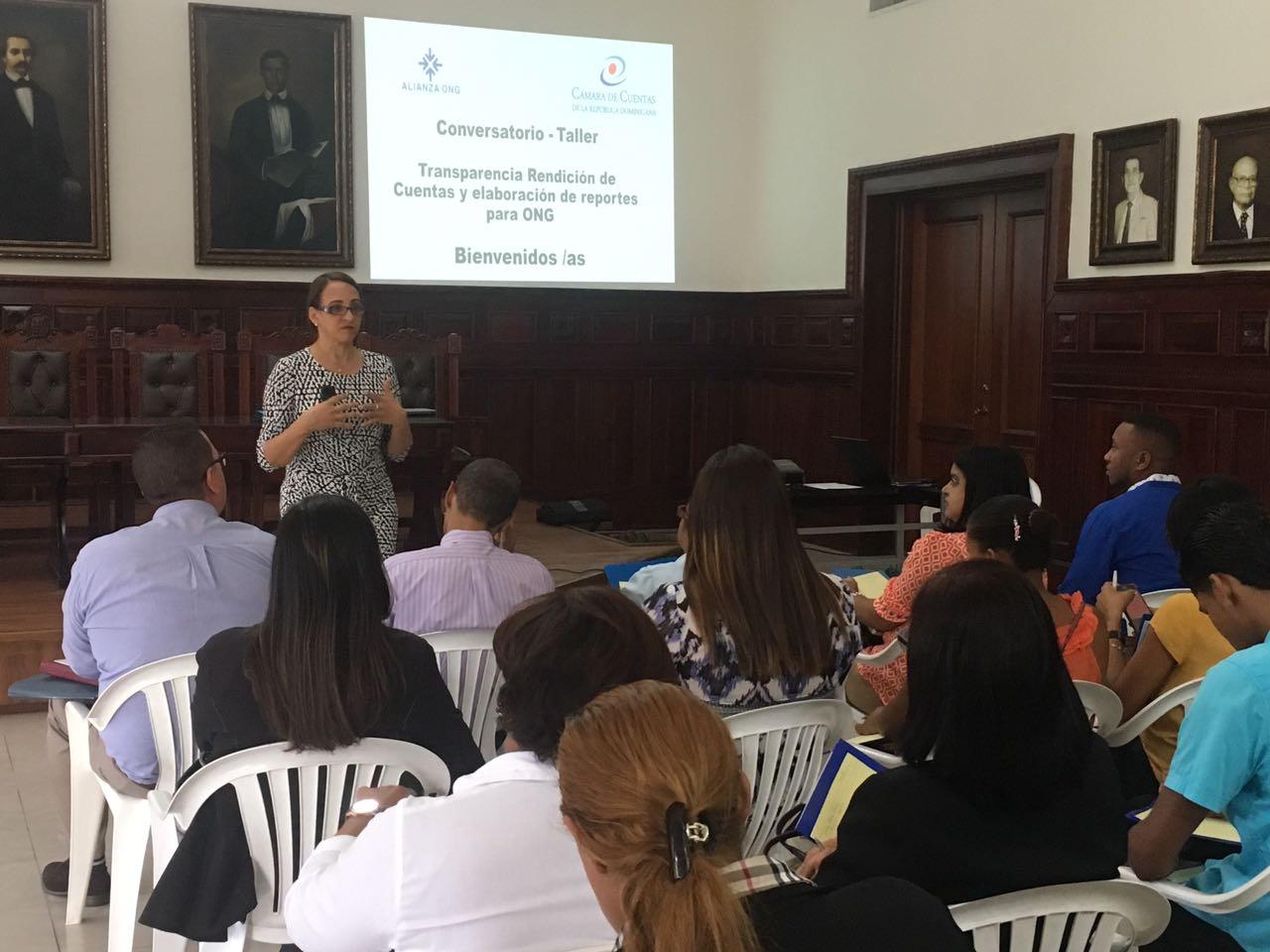 Alianza ONG y Cámara de Cuentas imparten talleres sobre transparencia y rendición de cuentas