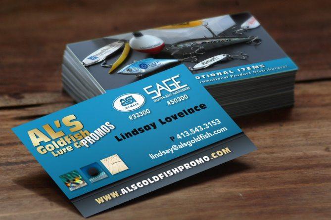 Al's Goldfish Business Card Design & Printing Springfield, MA