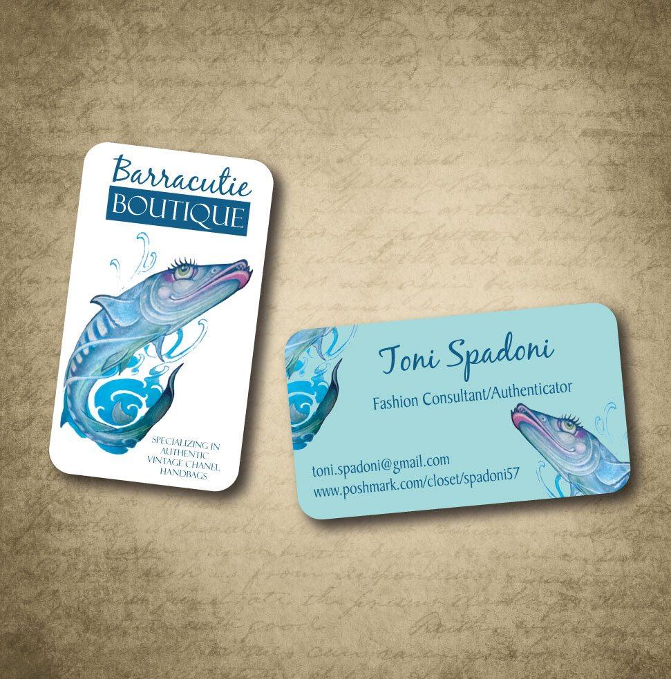 Barracutie Boutique Business Card Graphic Design Western Massachusetts