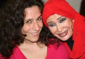 Alia and Azza in 2011.