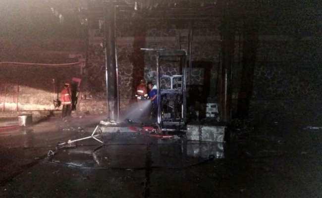 Kebakaran Spbu Di Bogor Karena Korsleting Pompa Sempat