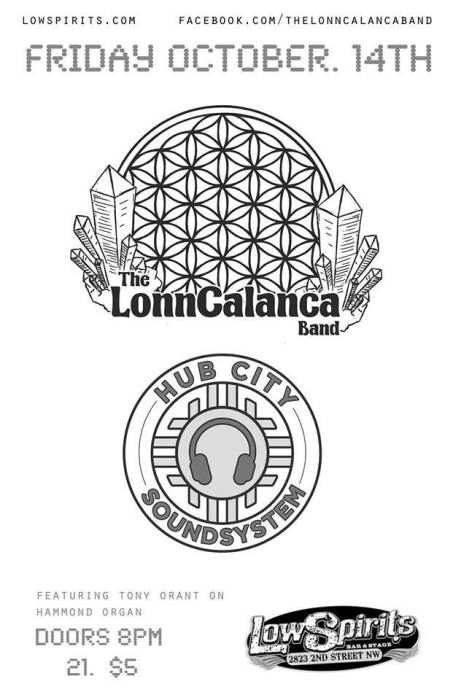The Lonn Calanca Band • contemporary jam • Hub City Sound