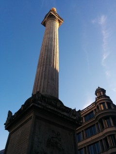 Monument from below