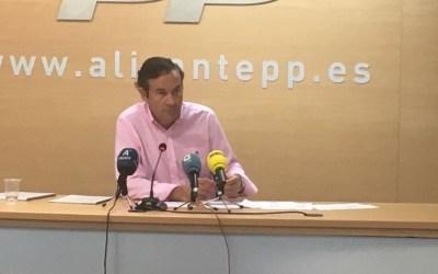 El PPCV señala que la Ley de Turismo de PSPV y Compromís amenaza los ingresos de los municipios turísticos