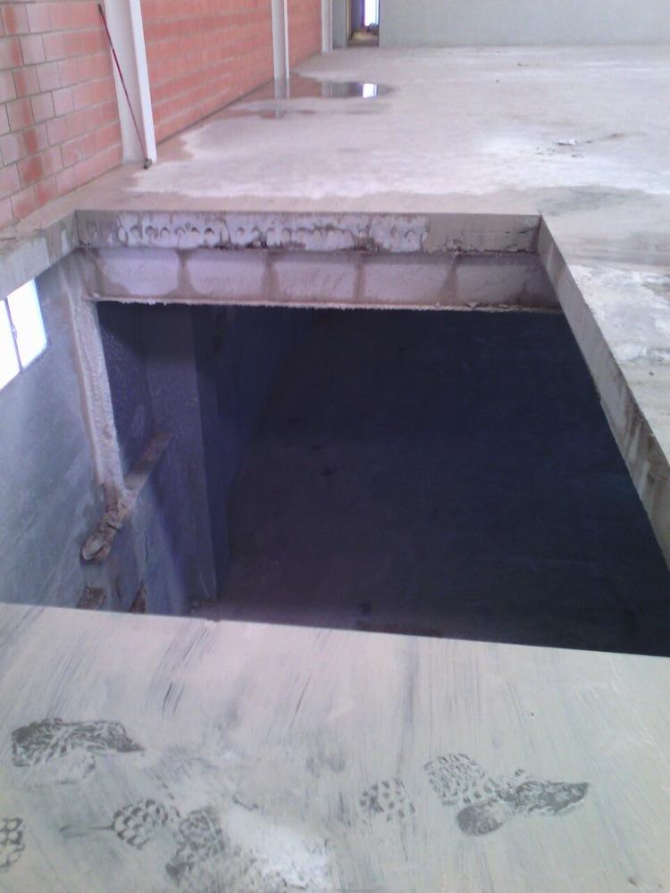 Alicantina de Cortes  Corte de Hormign para instalacin