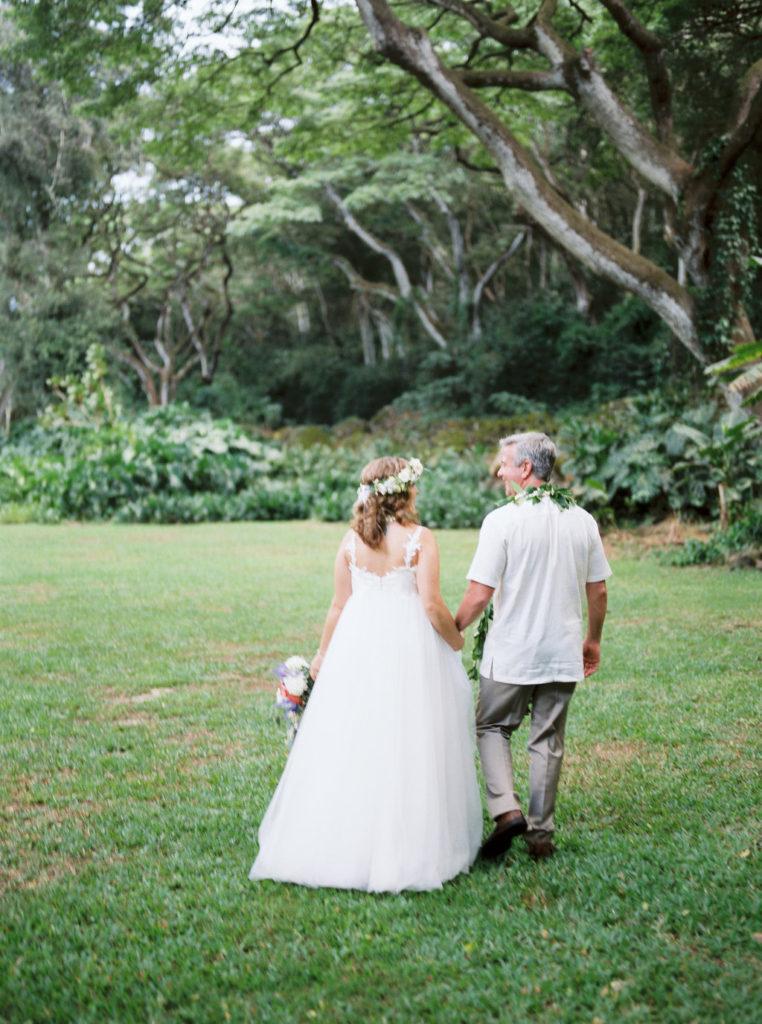 Sentimental Waimea Valley Wedding | Alice Ahn Photography | hawaii LA and SF wedding photographer