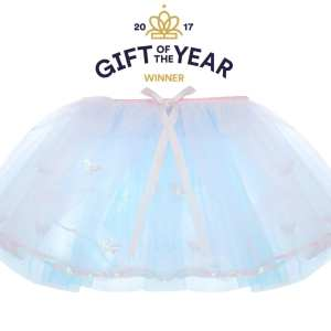 pink and blue TUTU – BUTTERFLY AND SEQUIN TRIM