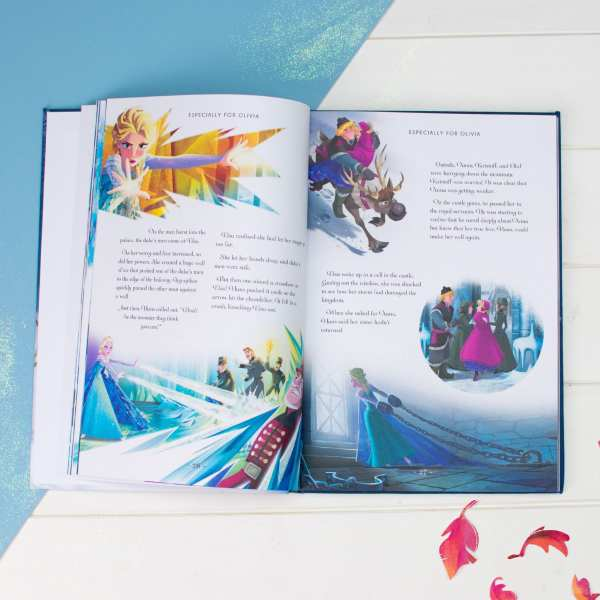 Personalised Frozen Collection Story Book