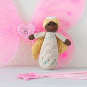 Angel Crochet Rattle