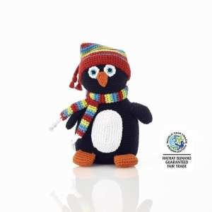 Penguin Crochet Rattle