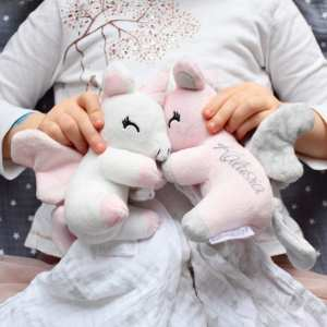 Unicorn Soft Toy With Wings