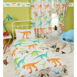 Dinosaur World Toddler Bed