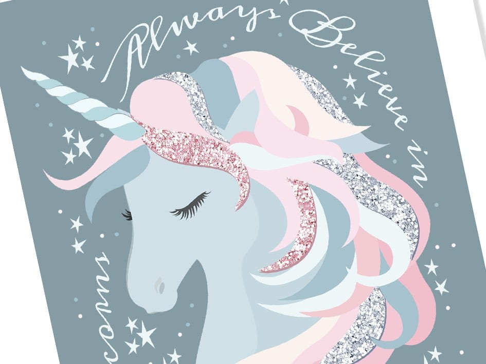 Believe In Unicorns Print Alice Joseph