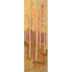 Aspen Mixed media landscape painting, landscape painting, aspen trees, estes park,