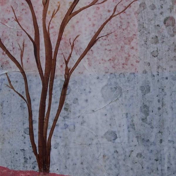 Mixed Media tree with embellishments