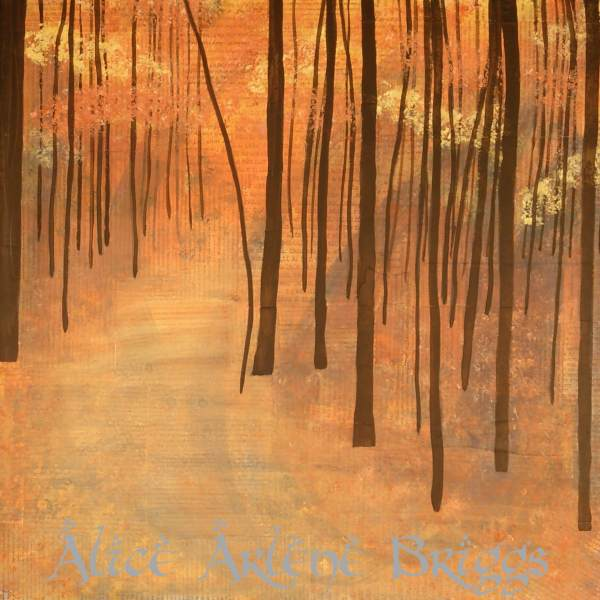 journey mixed media painting trees alicearlene.com