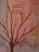 Classes Mixed Media Painting How to Paint Mixed Media Tree
