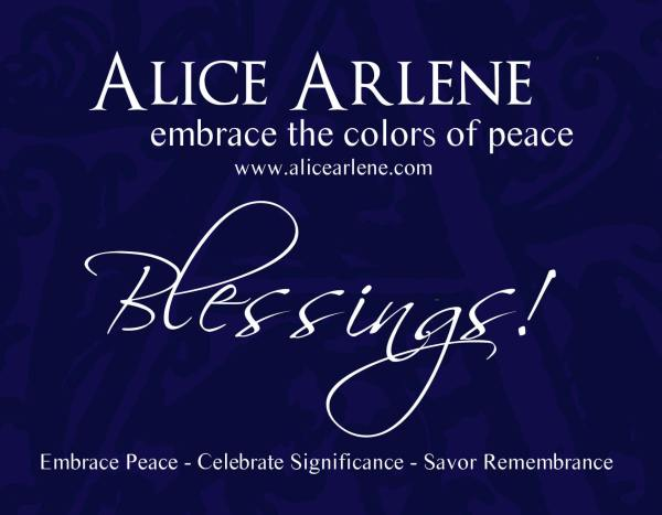 Gift Certificate Colors of Peace Artwork