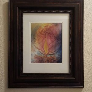 Subscriber Sample Framing Prophetic Art Print Subscription