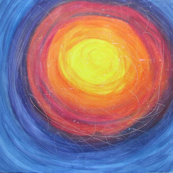 Portal Rainbow Worship Acrylic Artwork Home Decoration Happy Art Happy Life Live Color Fully