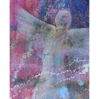 angel of hope, angel, hope, mixed media painting, monthly art box, intuitive painting, spiritual art, peace art, visionary art, representational art, mixed media art, intuitive, acrylic paintings, paintings, painting,