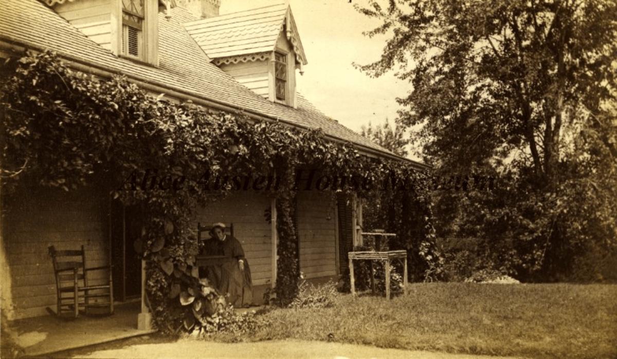 E. Alice Austen, Elizabeth Alice Townsend Austen, 1885.