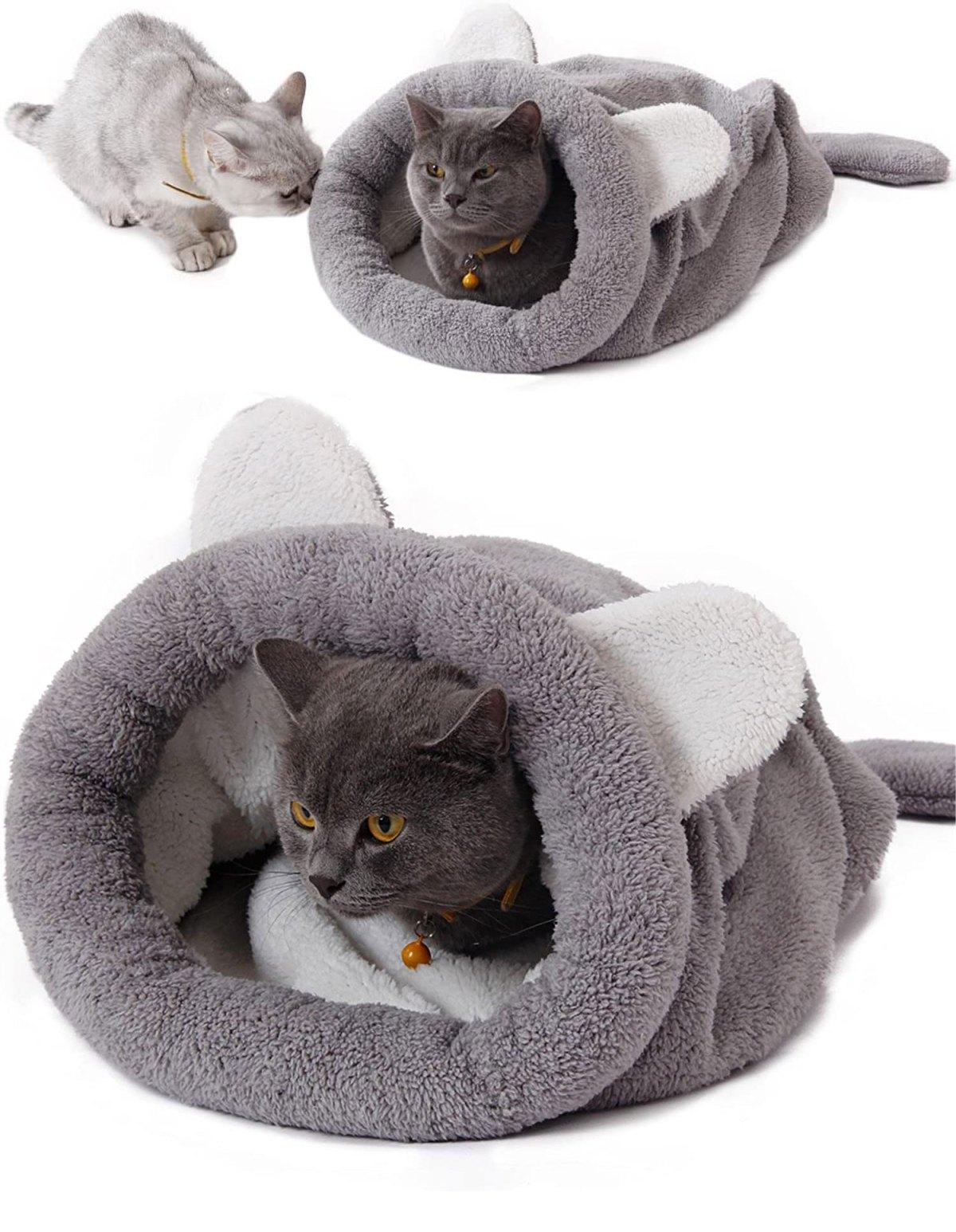 cat bed crochet