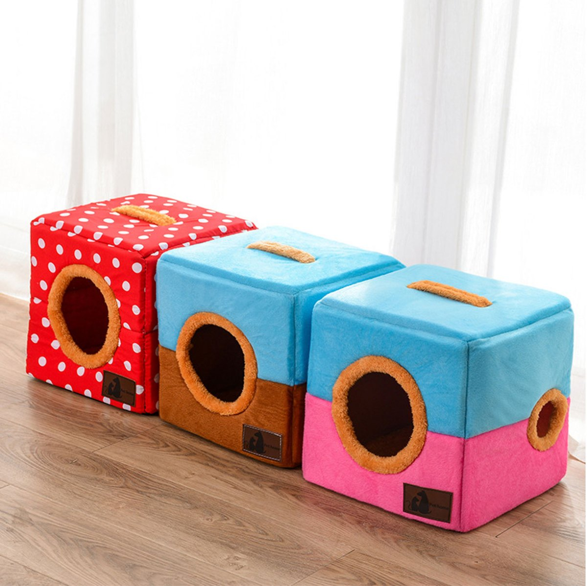 cute indoor cat house