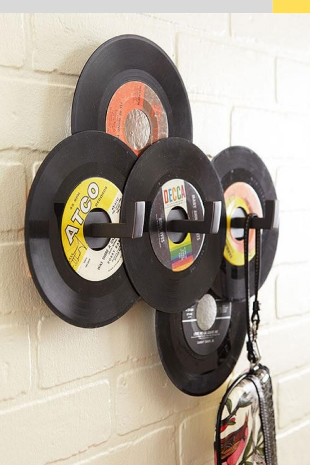 music hat rack for wall