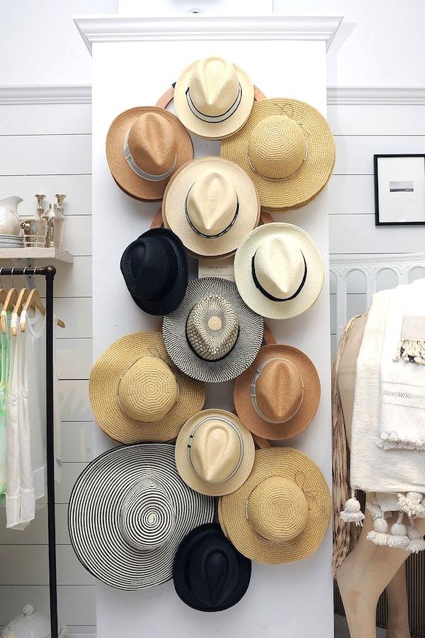 wall hat rack