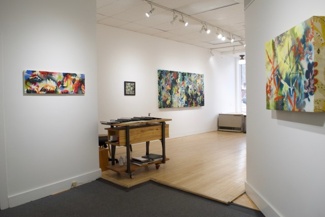 Solo show at the Front