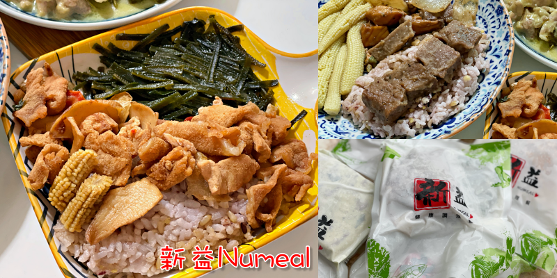 【宅配美食】宅在家也能品嘗到營養師設計的輕食低GI餐《新益Numeal》 |料理包推薦| |嘉義美食|