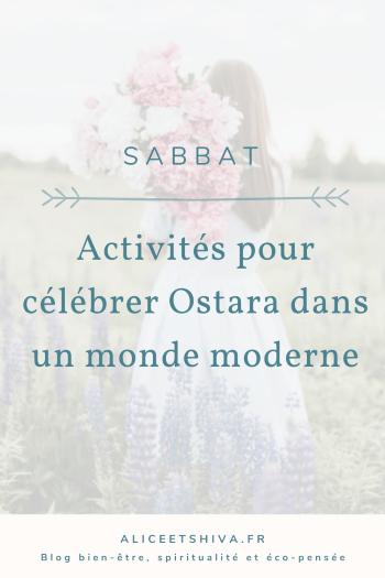 Rituels modernes célébrer ostara printemps renaissance purification mars sabbat sorcière wicca