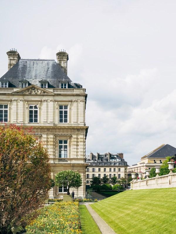 Lingered Jardin Du Luxembourg