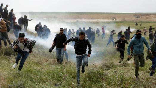 Gaza manifestation populaire