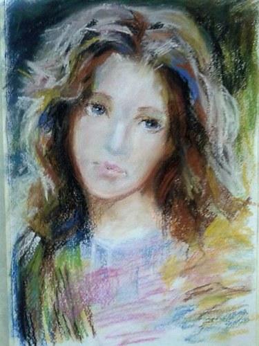 Portrait fait par mon élève Tatiana