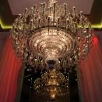 Millennium Plaza Hotel Chandelier Aperture Priority f/8; Exp 1/60sec; ISO-400