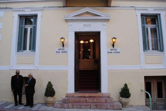 Nafplion's Hotel King Otto: f/5; Exposure 1/100sec; ISO-200
