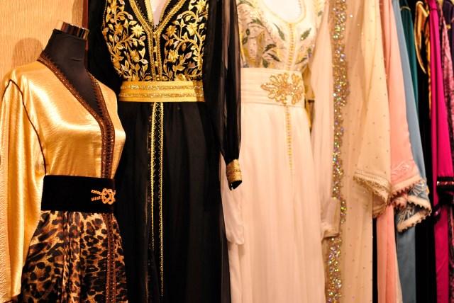 Bridal Show Dubai, Ritz Carlton: Couture Kaftans: f/2.2; 1/60sec; ISO-400