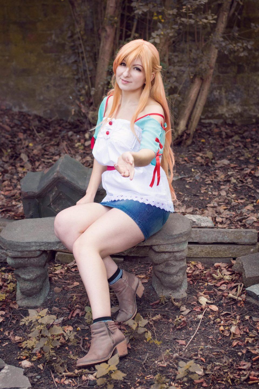 Asuna Yuuki casual cosplay | Alice in Cosplayland