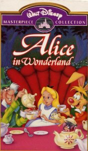 Disney's Alice in Wonderland on VHS