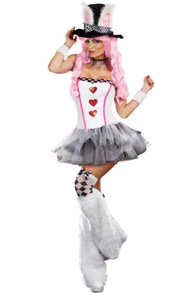Sexy White Rabbit Costume makes no sense