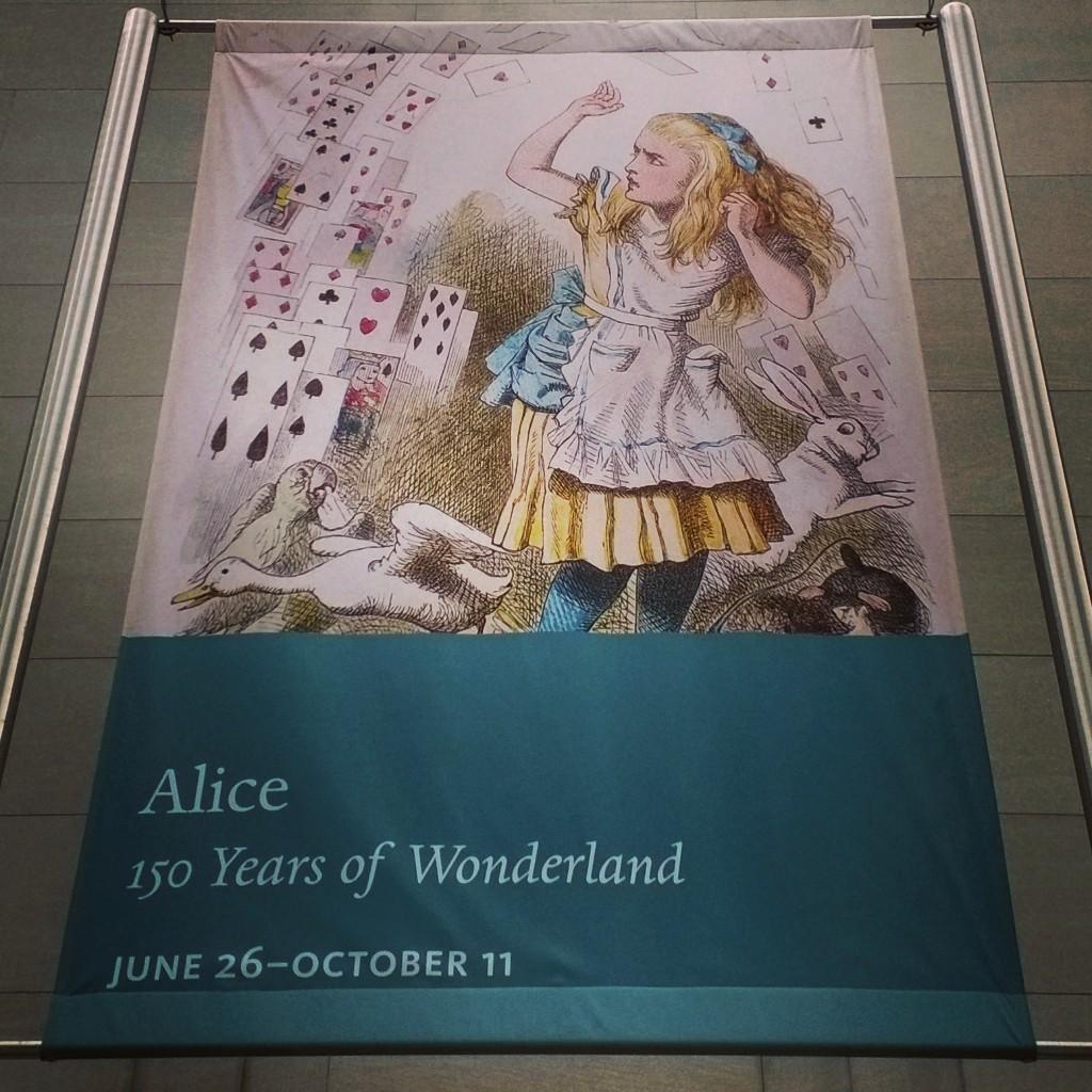 Alice in Wonderland exhibit at The Morgan Library