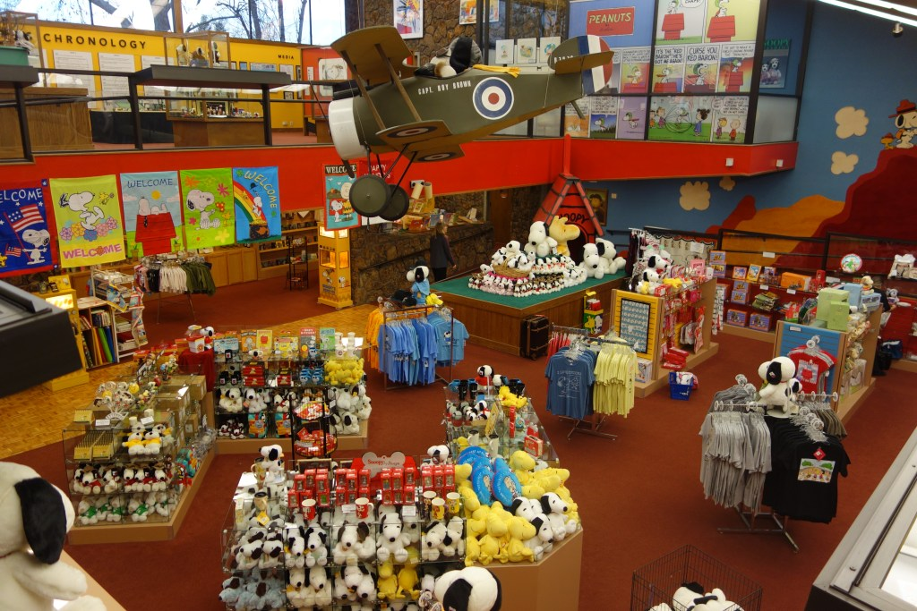 Charles Schulz Museum gift shop