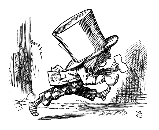 hatter is not who stole the tarts